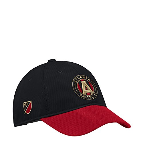 fan products of adidas Atlanta United FC Hat Authentic Adjustable Slouch Cap