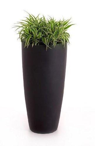 """Großartig Blumenkübel Pflanzkübel Fiberglas """"Rona"""" 80cm, anthrazit: Amazon  RN02"""