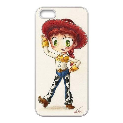 D4X76 Disney Toy Story Jessie T7Y9IY coque iPhone 4 4s cellule de cas de téléphone couvercle coque blanche II8ZLJ7BL