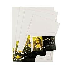 Speedball Mona Lisa 8-Inch-by-10-Inch Gessoed Art Board