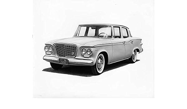Amazon 1961 Studebaker Lark Factory Photo Entertainment Collectibles