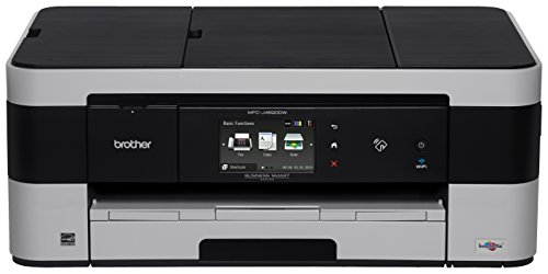 - Brother MFC-J4620DW, All-in-One Color Inkjet Printer, Wireless Connectivity, Automatic Duplex Printing, Amazon Dash Replenishment Enabled