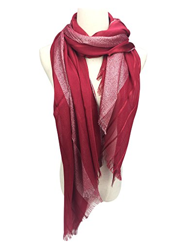 YOUR SMILE Women's Lightweight Glitter Color mixture Print Shawl Scarf For Spring Season ()