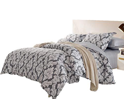 Cheap  Swanson Beddings Medallion 3-Piece 100% Cotton Bedding Set: Duvet Cover Two Pillow..