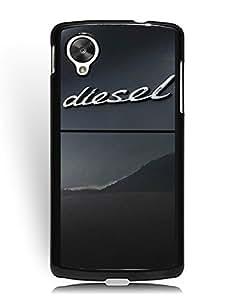 Google Nexus 5 Funda Case, Diesel Logo Google Nexus 5 Funda Case Snap-on Case Cover