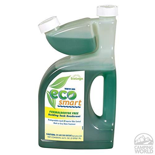Additive Tank (Eco Smart RV Holding Tank Deodorant - Waste Digester - Detergent - 64 oz - Thetford 32950)