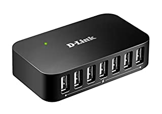 D-Link 7-Port USB 2.0 Hub including 7 Fast Charging Ports, mini USB 2.0 Port and 5V/3A Power Adapter (DUB-H7) (B0000B0DL7) | Amazon price tracker / tracking, Amazon price history charts, Amazon price watches, Amazon price drop alerts