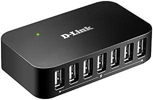 D-Link DUB-H7 Hub 7 ports USB 2.0 Noir
