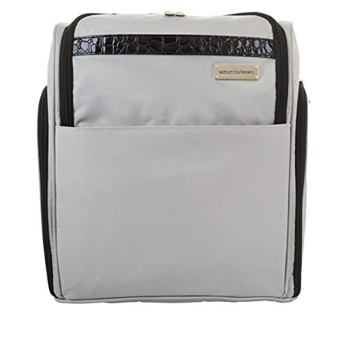Silver Samantha Brown Lightweight Backpack