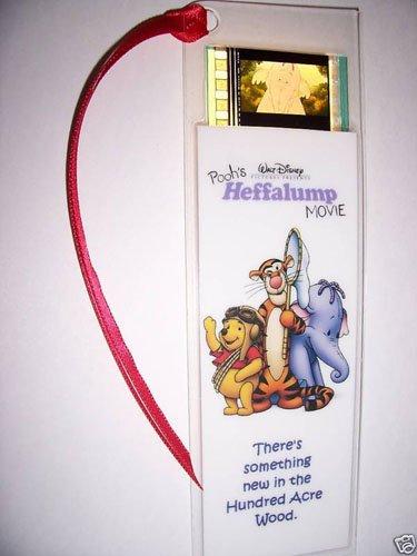 POOHS HEFFALUMP Movie Memorabilia Film Cell Bookmark