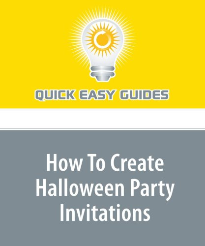 How To Create Halloween Party Invitations