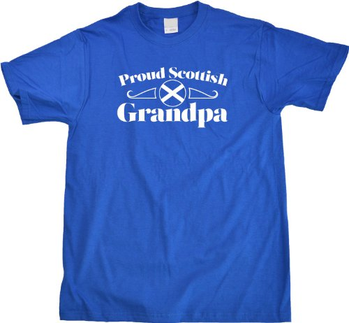 Proud Scottish Grandpa | Scotland Pride Unisex T-shirt Scotland Grandparent Shirt