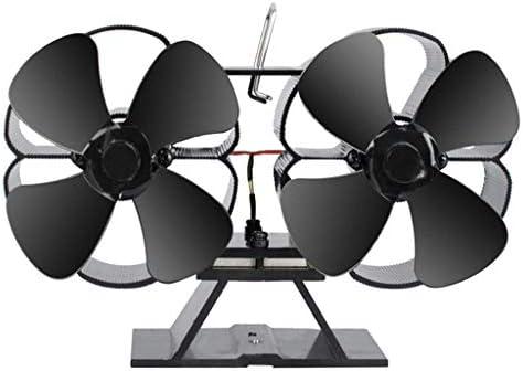 HOTPINK1 - Ventilador de Doble Motor con 8 aspas para Chimenea ...