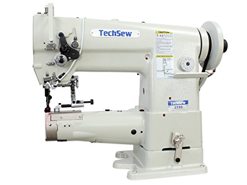 TechSew 2750 PRO Leather Walking Foot Industrial Sewing Machine with Assembled Table & Servo Motor