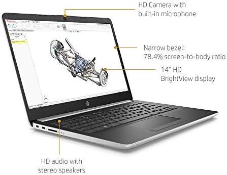 HP 14in High Performance Laptop (AMD Ryzen 3 3200U 2.6GHz up to 3.5GHz, AMD Radeon Vega 3 Graphics, 4GB DDR4 RAM, 128GB SSD, WiFi, Bluetooth, HDMI, Windows 10(Renewed) WeeklyReviewer