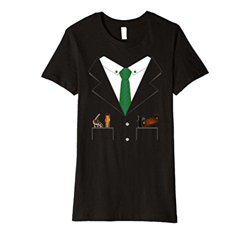 Womens Gangster Mob Boss Hitman Halloween Costume Premium T-shirt XL (Gangster Halloween Costumes Ideas)