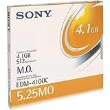 Sony EDM4100CWW Disc R/w Magneto Optical 5.25 In. 4.1gb 512 B/s [8x]