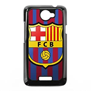 Personalized Durable Cases Oflbz HTC One X Black Phone Case Barcelona Football Protection Cover