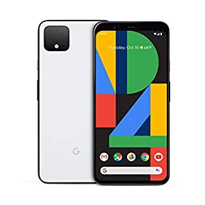 Best Epic Trends 412o9NqZo4L._SS300_ Google Pixel 4 XL - Clearly White - 64GB - Unlocked