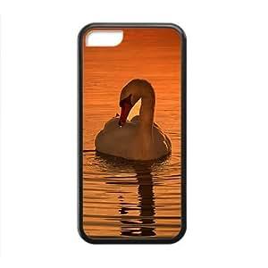 XiFu*MeiElegent White Swan On Lake Phone Case for iphone 6 plua 5.5 inchXiFu*Mei