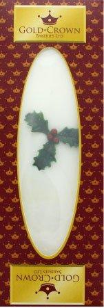 Gold Crown Iced Christmas Slab - 14.1oz 400g Christmas Fruitcake