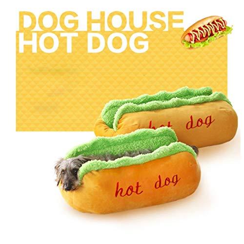 Insert Disposable Pads (Botrong Soft Warm Pet Bed Hot Dog Pad Pet Cushion Gray U-Shaped Pattern (L))