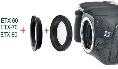 Gosky cámara Adaptador T para Meade ETX-60, ETX-70 y telescopios ...