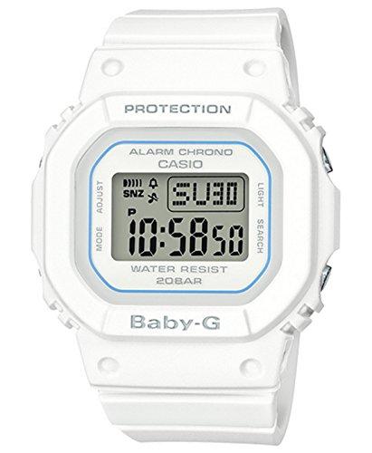 Casio 2018 BGD-560-7CR Watch Baby-G Classic Digital White