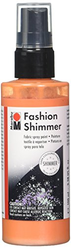 Marabu 17189050524 Fashion Shimmer 100ml-Shimmer Apricot