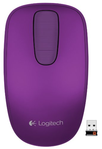 Logitech T400 Zone Touch Mouse for Windows 8 - Wild Plum (910-003773)