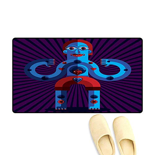 Customize Door mats for Home Mat Graphic Vector Illustration Anthropomorphic Character Isolated 20