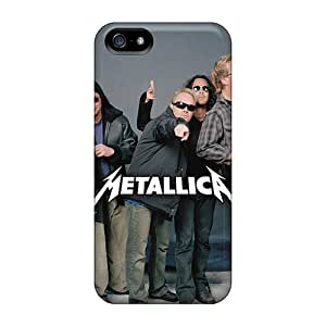 Marycase88 Iphone 5/5s Bumper Cell-phone Hard Cover Allow Personal Design Lifelike Metallica Skin [Umy7092CBiz]