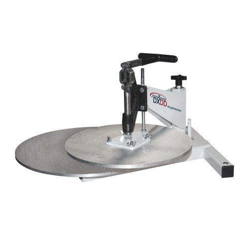 DoughXpress DXDD-10 Dough Docker with 10'' Docking Platen, 22-1/2'' Width x 31-3/8'' Height x 30-7/8'' Depth by DoughXpress