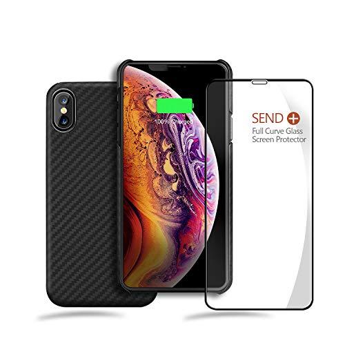 Aramid iPhone Xs Max Case, Bulletproof Case Made Kelvar 100% Aramid Fiber Minimalist Armor Material, Ultra Slim Lightweight Case, Snap-on Case iPhone Xs Max 6.5