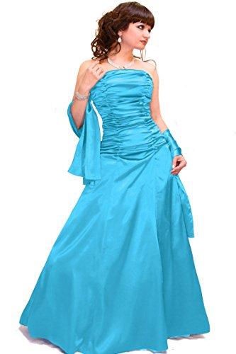 Damen Christine und Abendkleid Hellblau Empire Größe Farbe Juju wPpOExqq