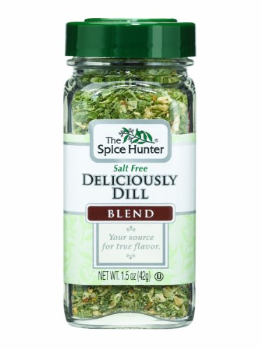 Spices Dill (The Spice Hunter Deliciously Dill Blend, 1.5-Ounce Jar)