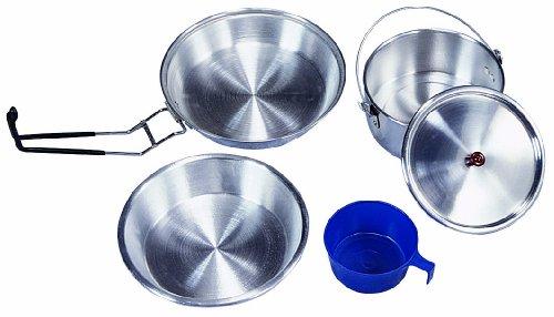 Stansport Deluxe Aluminum Cook Set, (Stansport Aluminum Cookware)