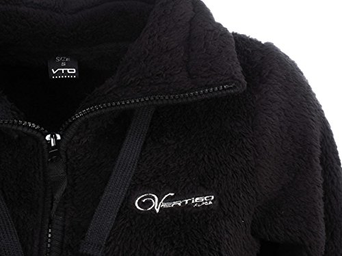 Polaire L Noir Nouli Black Alpes Vertigo Vestes tq84SS