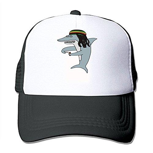 Reggae Shark Unisex Adjustable Snapback Hip Hop Hat Baseball Cap -