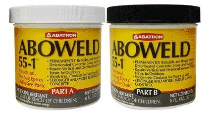 aboweld-55-1-no-sag-epoxy-paste-for-concrete-repairs-12-fluid-oz