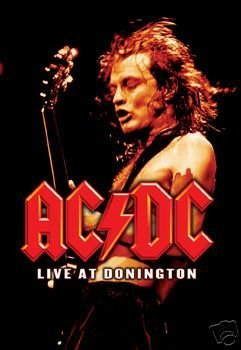 (24x36) AC/DC Live at Donington Music Poster Print