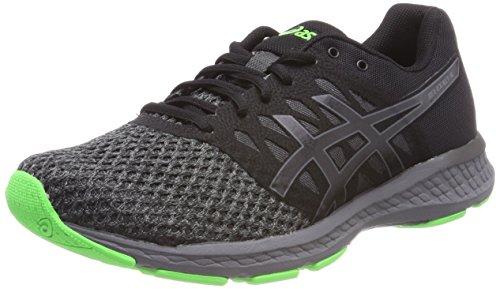 Chaussures De Running Asics Gel-exalt 4 Pour Homme - Noir / Carbone / Vert