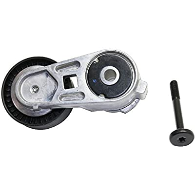 Accessory Belt Tensioner Serpentine Type compatible with Grand Cherokee 99-04 Wrangler (TJ) 00-06 6 Cyl 4.0L: Automotive