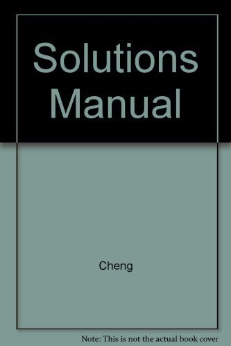 Field and Wave Electromagnetics: Solutions Manual, 2nd edition