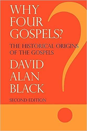 Why 4 Gospels?