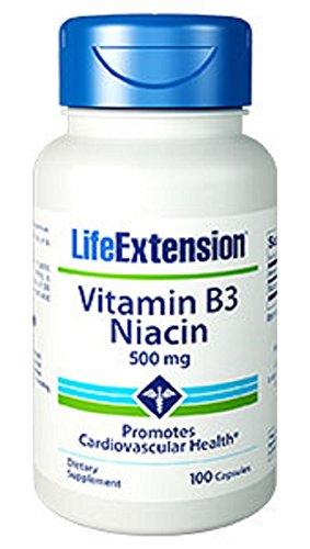 Life Extension Vitamin Niacin capsules