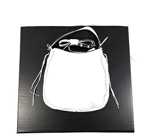 with Hobo Minkoff White Whipstich Rebecca Convertible Unlined ITxq8TwOv