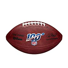 """Wilson """"The Duke"""" Official NFL Game Football - 100th Edition"""