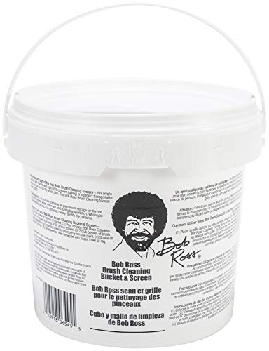 Bob Ross R6545 Cleaning Bucket & Screen-White