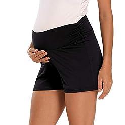 Maternity-Shorts-Summer-Lounge-Yoga-Pajama-Active-Pregnancy-Short-Pants